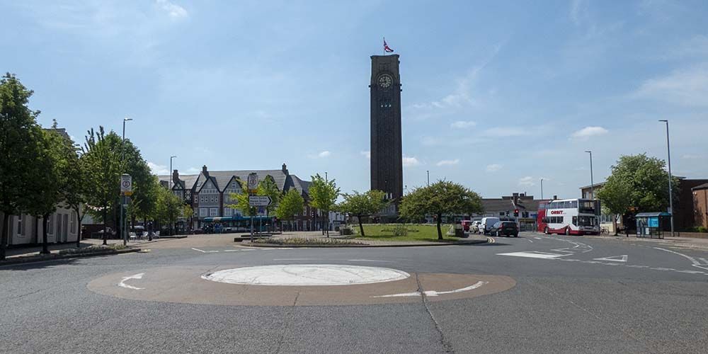 Memorial Clock Tower 1