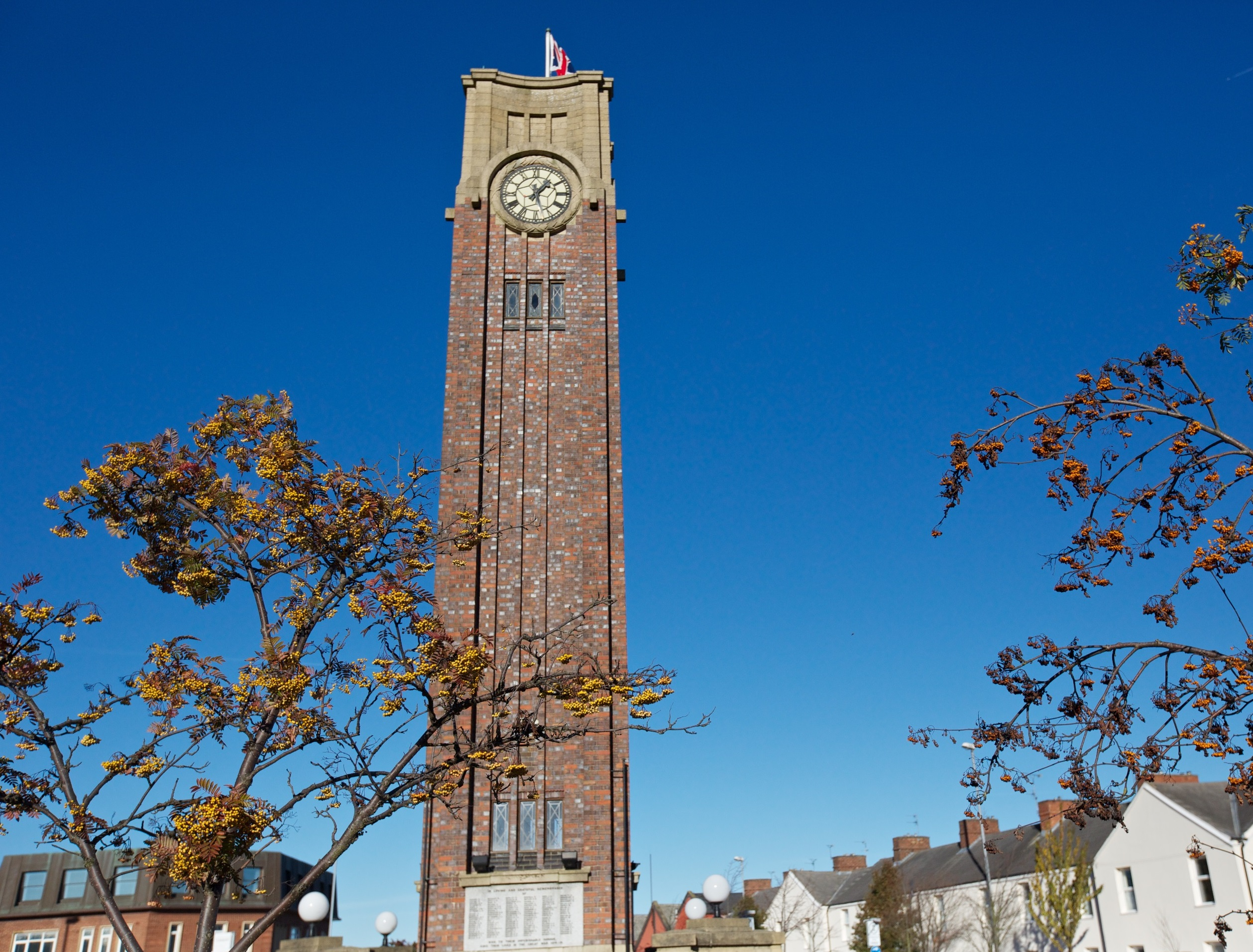 Coalville Memorial Clock Tower
