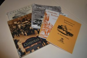 A selection of Coalville history books