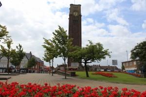 Coalville - clock tower (7)